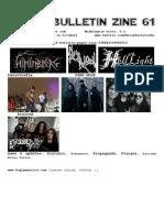 Metal Bulletin Zine 61