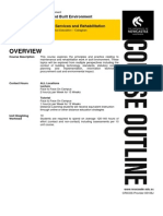 ARBE2306 Course Outline_2015