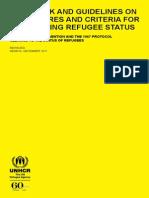 Handbook UNHCR