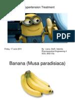 Biochemistry Presentation Banana - Liana, Steffi, Valentia.17.6.2011