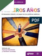 Los Primeros Años El Bienestar Infantil y El Papel de Las Políticas Públicas