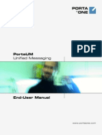 PortaUM End-User Manual