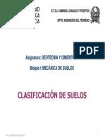 CLASIFICACION SUELOS