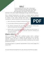 Software Development Life Cycle(SDLC)