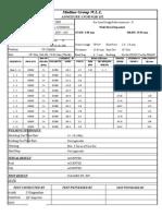 Pqr-152 - Run Sheet