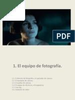 Seminario de Fotografía Cinematográfica