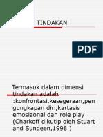 DIMENSI TINDAKAN