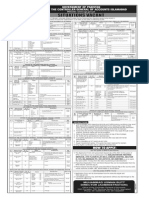 Application Form for Controller General of Accounts Islamabad Advertisement File