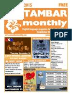 Costambar Monthly November 2015