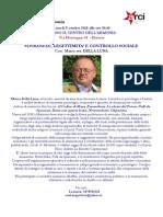 Volantino Sovranità, Leggittimità e Controllo Sociale - Marco Della Luna