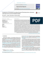 Treatment of Trichodina Sp Reduced Load of Flavobacterium Columnare