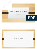 introduction to vectors  final