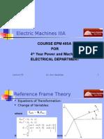 Machines EPM405A Presentation 02