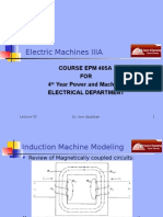 Machines EPM405A Presentation 03