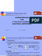 Machines EPM405A Presentation 05