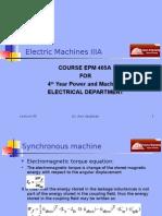 Machines EPM405A Presentation 06