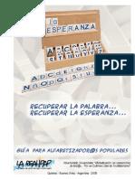 Guia Alfabetizacion Para Educadores Populares (Argentina)