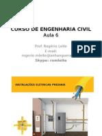 Instala+º+Áes El+®tricas, Telef+¦nicas e de L+¦gica - Aula 6.pptx