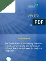 API 570 Saudi Aramco Pp
