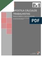 Apostila Prosapies - Cálculos Trabalhistas