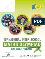 10th National ISMO Class 8 Question Paper With Solutions