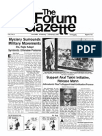 The Forum Gazette Vol. 2 Nos. 3 & 4 February 6-21, 1987