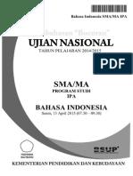 Pembahasan Bocoran Soal UN Bahasa Indonesia SMA 2015 by Pak-Anang.blogspot.com