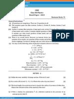 Class 12th 2015 Paper