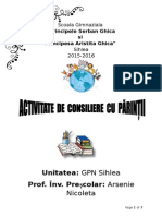 Consiliere Parinti 2015-2016