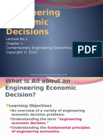 Lecture No1_Engineering Economic Decisions