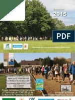 Calendrier des randonnées 2015 en Eure-et-Loir