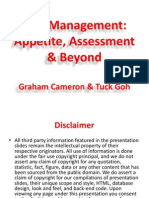2013-12 Pre - Risk Management - Appetite, Assessment and Beyond (1)