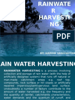 Rainwater Harvesting by Hardik