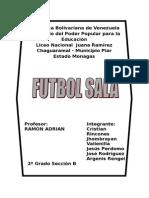 Fútbol Salas 210515