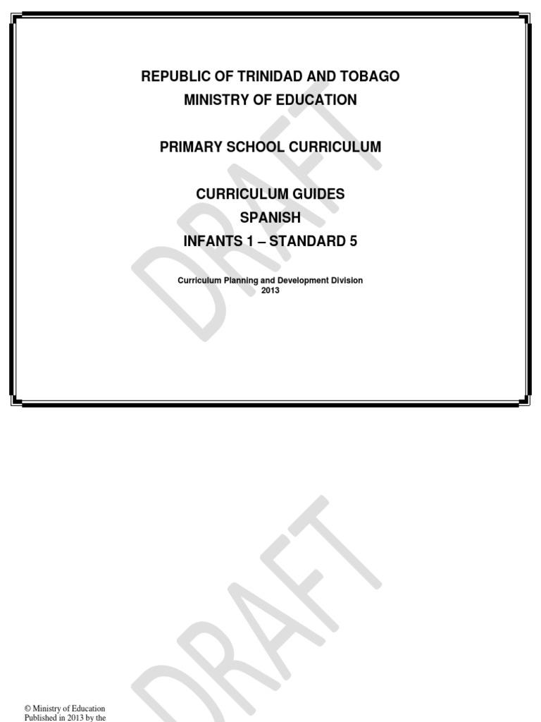 7 Curriculum Guides Spanish | Curriculum | Differentiated Instruction