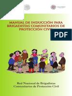 Manual de Inducción Para Brigadistas Comunitarios de Protección Civil