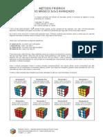 Apostila Metodo Fridrich Cubo Magico 3x3x3