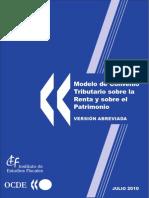 Modelo de Convenio Tributario Sobre La Renta y El Patrimonio Versión Abreviada 2010 ESPAÑOL