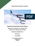 Embraer ERJ 170-175-190-195 EASA OEB Report Rev 5