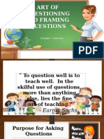 Art of Questioning and Framing of Questions2