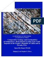 Comparative Geology and Geochemistry of SedimentaryRock-Hosted