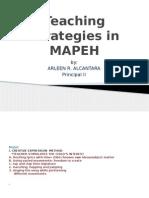 Teaching Strategies in Mapeh