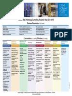 Flexible Mba Curriculum Grid