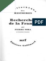 Nora - Recherches de La France