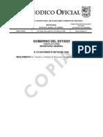 Reglamento Transito y Vialidad Reynosa