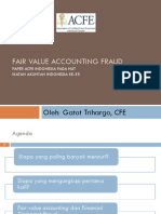 Fair Value Accounting Fraud