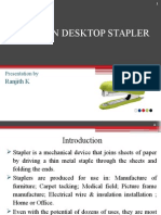 DFMA on Desktop Stapler