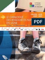 CatalogueKNE 2008
