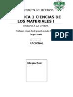 Identificación de Metales Por Prueba de Chispa