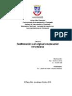 Sustentación conceptual para formar empresarios venezolanos